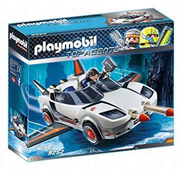 PLAYMOBIL 9252 TOP AGENTS - P.'s Super Racer