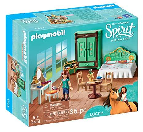 PLAYMOBIL 9476 DREAMWORKS SPIRIT - Lucky's Bedroom