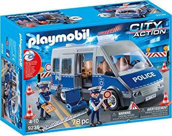 PLAYMOBIL 9236 CITY ACTION - Policemen with Van