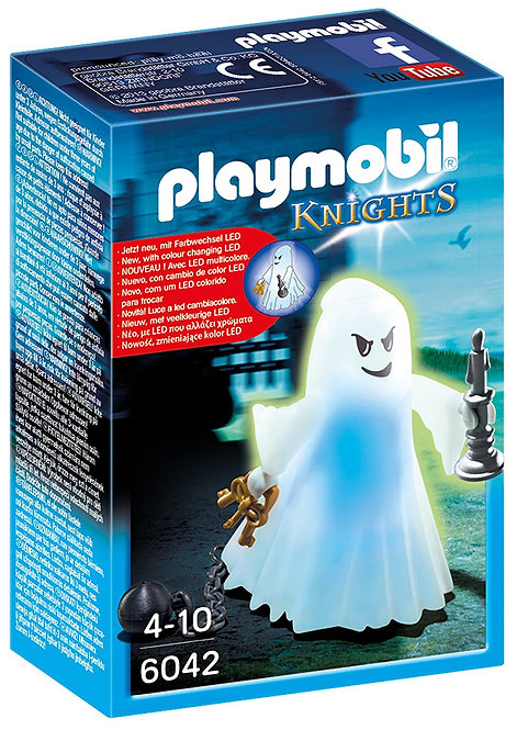 PLAYMOBIL 6042 KNIGHTS - Castle Ghost with Rainbow LED