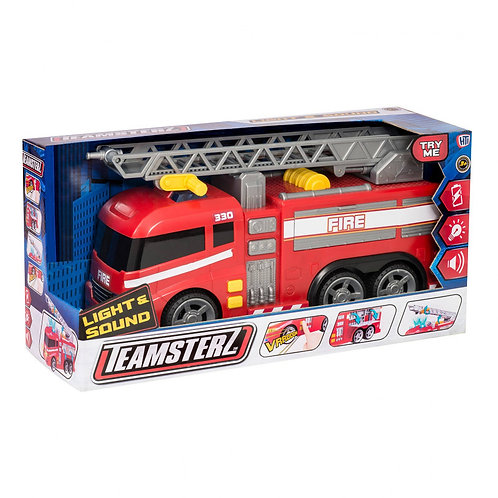 TEAMSTERZ FIRE TRUCK WITH LIGHTS & SOUNDS