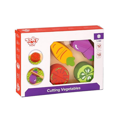 TOOKY TOY - CUTTING VEGETABLES (TL143)