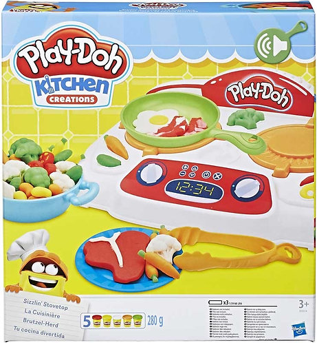 PLAY-DOH KITCHEN CREATIONS SIZZLIN STOVETOP (B9014)