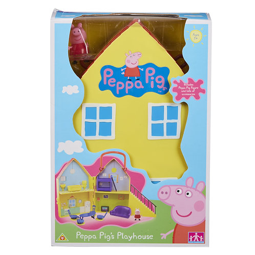 PEPPA PIG PLAYHOUSE WITH FIGURE
