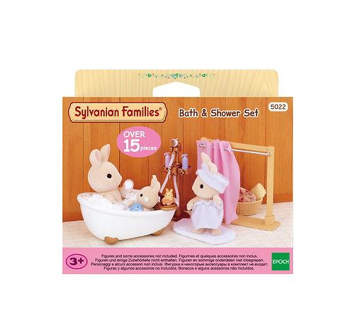 SYLVANIAN FAMILIES: BATH & SHOWER SET (5022)