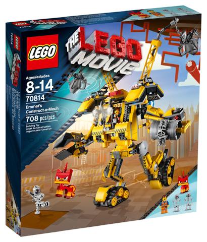 LEGO 70814 THE LEGO MOVIE - Emmet's Construct - o - Mech