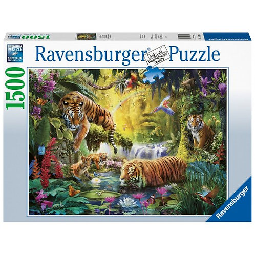 RAVENSBURGER 1500 PCS PUZZLE TIGERS