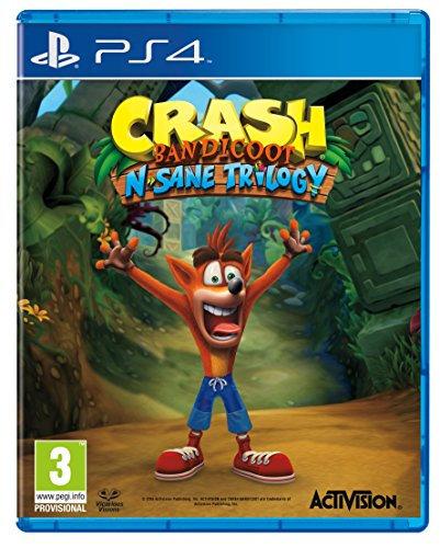 PS4 CRASH BANDICOOT N-SANE TRILOGY