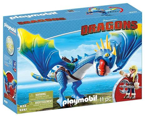 PLAYMOBIL 9247 DRAGONS - Astrid & Stormfly