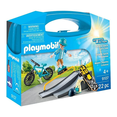 PLAYMOBIL 9107 SPORTS & ACTION - Extreme Sports Carry Case