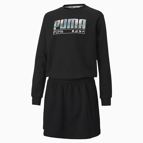 PUMA ALPHA LONG SLEEVE YOUTH DRESS (583306-01)