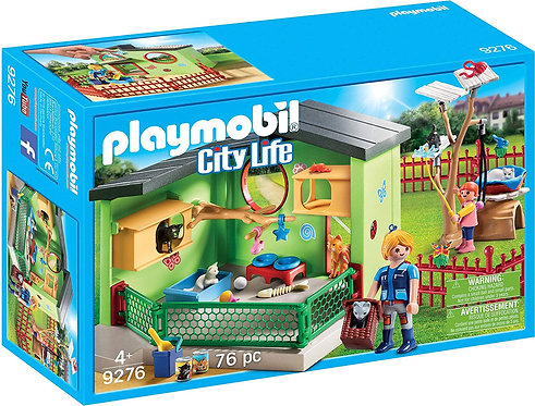 PLAYMOBIL 9276 CITY LIFE - Purrfect Stay Cat Boarding
