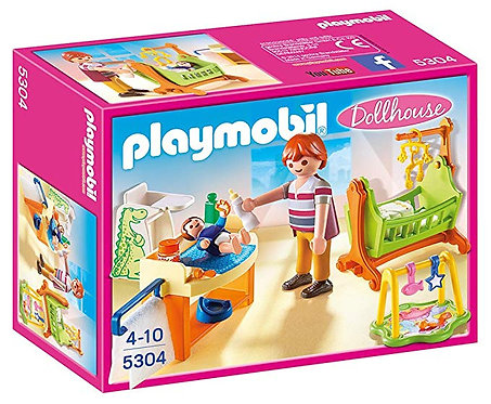 PLAYMOBIL 5304 DOLLHOUSE - Baby Room With Cradle