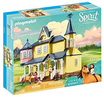 PLAYMOBIL 9475 DREAMWORKS SPIRIT - Lucky's Happy Home