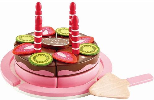 HAPE PLAYFULLY DELICIOUS WOODEN CAKE (E3140A)