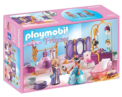 PLAYMOBIL 6850 PRINCESS - Dressing Room with Salon