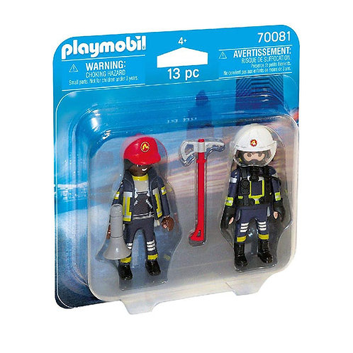 PLAYMOBIL 70081 - Duo Pack Rescue Firefighters