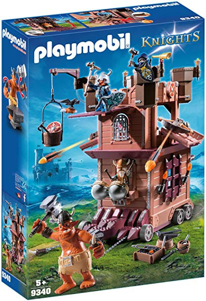 PLAYMOBIL 9340 KNIGHTS - Mobile Dwarf Fortress