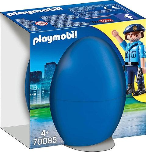 PLAYMOBIL 70085  Easter Egg - Policeman with Dog