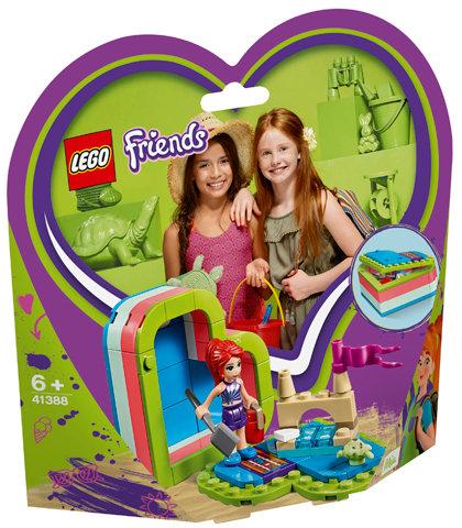 LEGO 41388 FRIENDS - Mia's Heart-shaped Summer Box