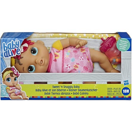 BABY ALIVE SWEET N SNUGGLY BABY (E7599)