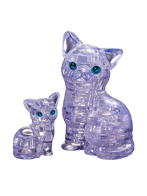 CRYSTAL PUZZLES Cat & Kitten UVC