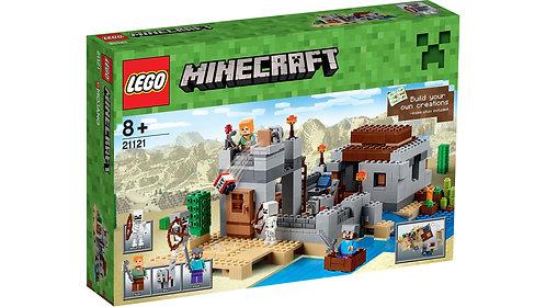 LEGO 21121 MINECRAFT - The Desert Outpost