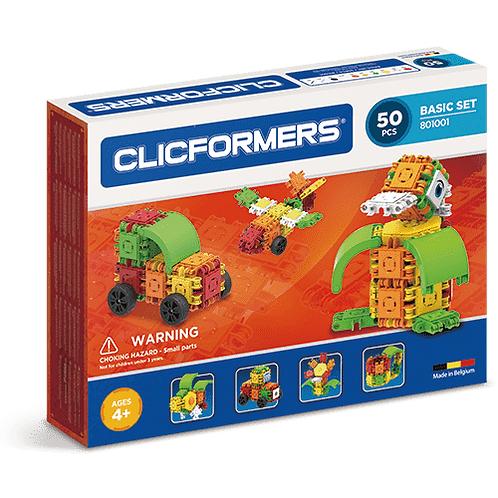 CLICFORMERS BASIC SET - 50 PIECES