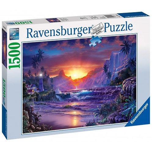 RAVENSBURGER 1500 PCS PUZZLE SUNRISE IN PARADISE