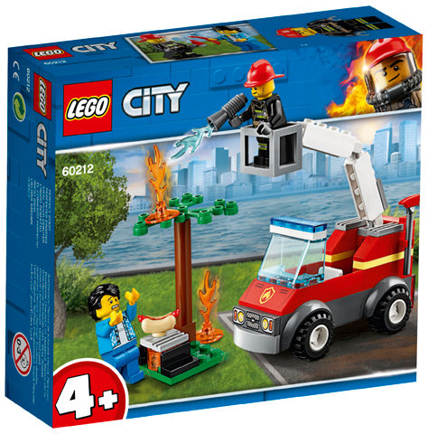 LEGO 60212 CITY - Barbecue Burn Out