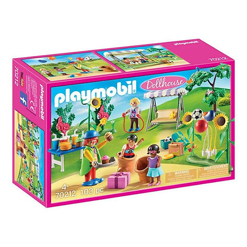 PLAYMOBIL 70212 DOLLHOUSE - Children's Birthday Party