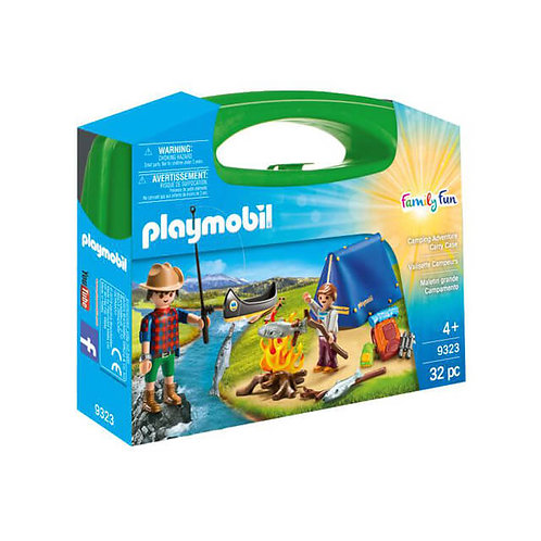 PLAYMOBIL 9323 FAMILY FUN - Camping Adventure Carry Case