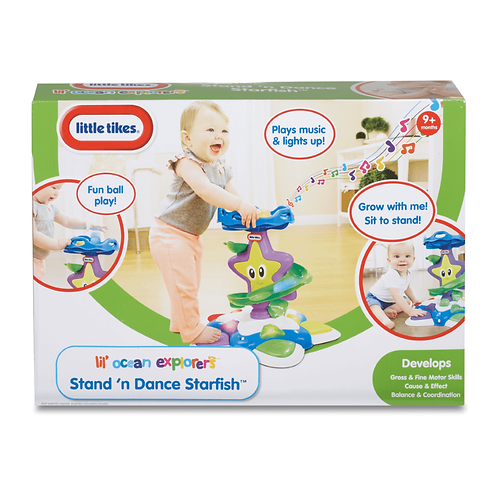 LITTLE TIKES STAND AND DANCE STARFISH (LTT41000)