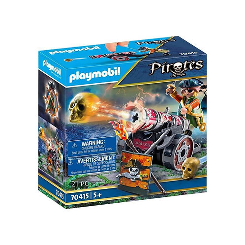 PLAYMOBIL 70415 PIRATES - Pirate with Cannon