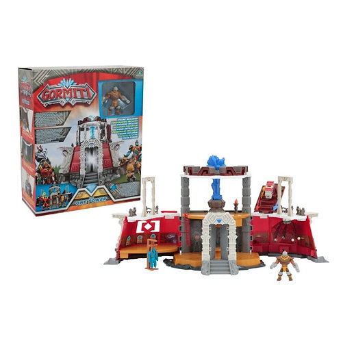 GORMITI ONE TOWER PLAYSET + FIGURE (GRM11000)