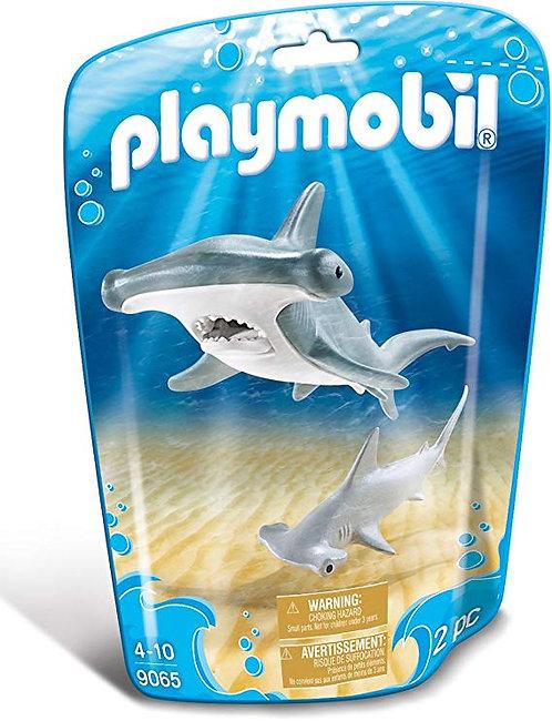 PLAYMOBIL 9065 FAMILY FUN - Shark with Baby