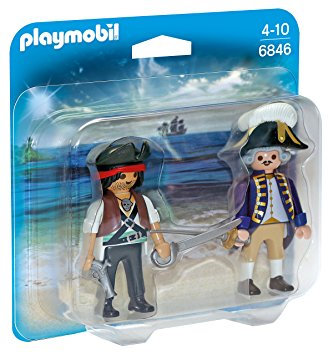 PLAYMOBIL 6846 PIRATES - Pirate and Soldier Duo Pack