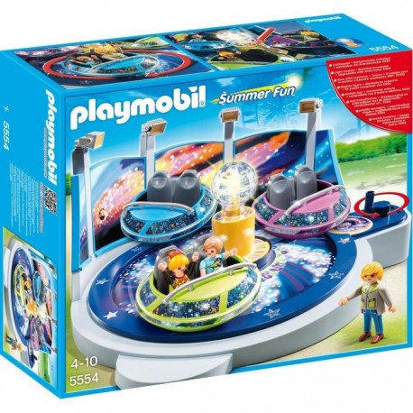 PLAYMOBIL 5554 SUMMER FUN - Spinning Spaceship Ride with Lights