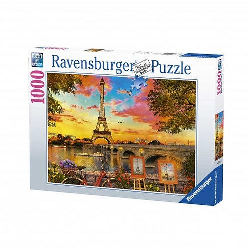 RAVENSBURGER PUZZLE 1000 PCS PARIS, FRANCE