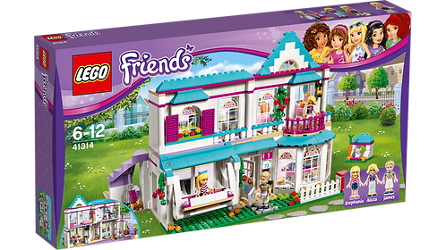 LEGO 41314 FRIENDS - Stephanie's House