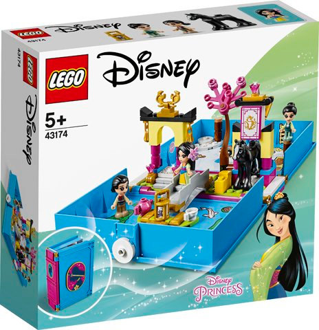 LEGO 43174 DISNEY PRINCESS - Mulan's Storybook Adventures