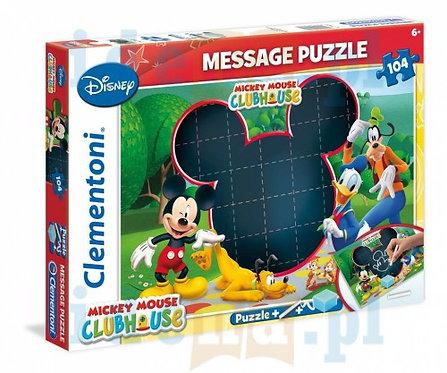 CLEMENTONI PUZZLE 104 MESSAGE MICKEY MOUSE