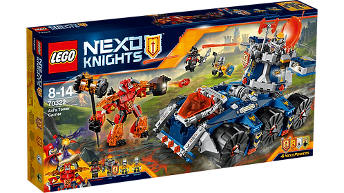 LEGO 70322 NEXO KNIGHTS - Axl's Tower Carrier