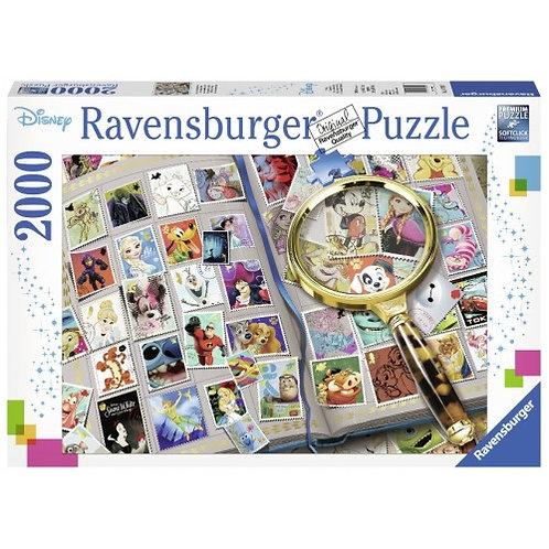RAVENSBURGER PUZZLE 2000 PCS DISNEY STAMPS