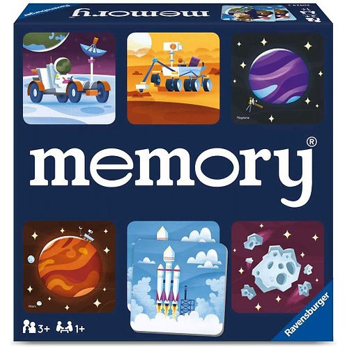 RAVENSBURGER EDUCATIONAL GAME MEMORY® SPACE