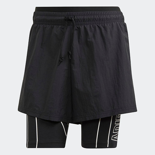 ADIDAS DETACHABLE TWO-IN-ONE SHORTS (FI6711)