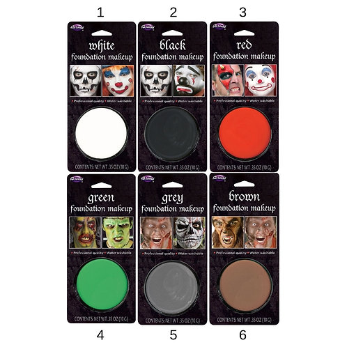 MAKE UP IN HARDCASE 6COLORS 9,3GR