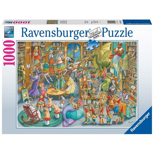 RAVENSBURGER PUZZLE 1000 PCS MIDNIGHT AT THE LIBRARY