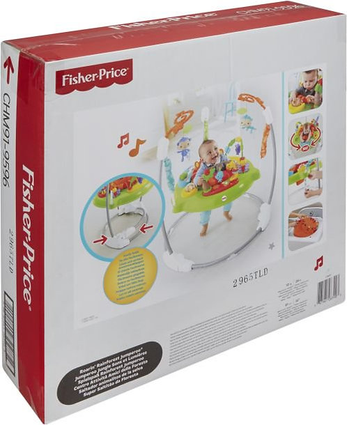 FISHER-PRICE ROARING RAINFOREST JUMPEROO (CHM91)