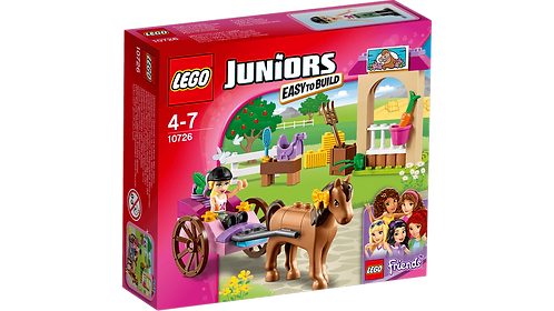 LEGO 10726 JUNIORS - Stephanie's Horse Carriage